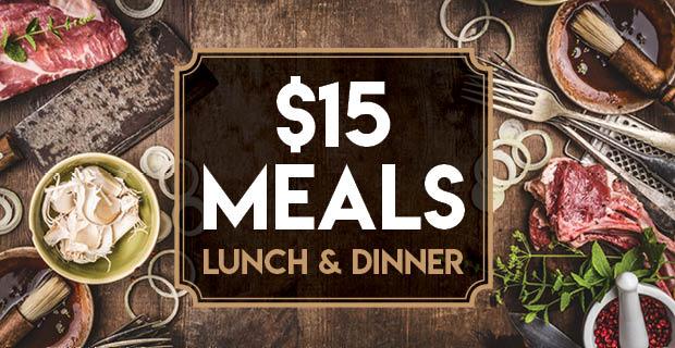 $15 Members Meals