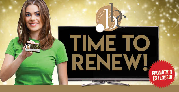 Renew or extend your membership to WIN!